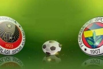 Fenerbahçe sonunda kazandı