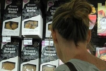 Böcekburger satışta