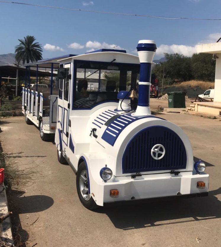 Harmancı'dan gezi trenine T izni isyanı