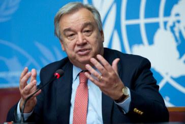 """Guterres: """"Dünyamız zor durumda"""""""