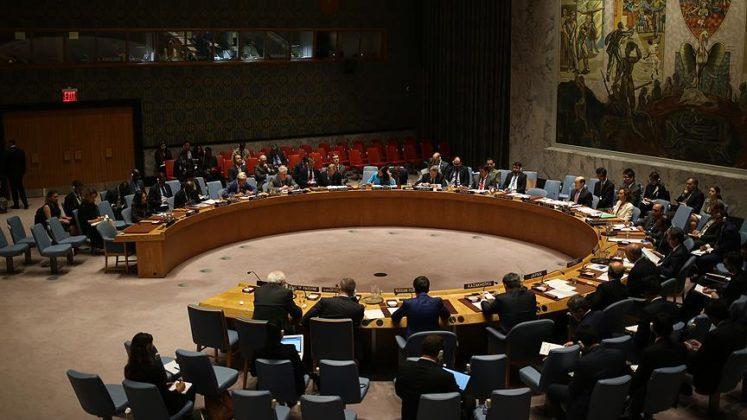 Güvenlik Konseyi kınadı