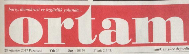 """""""Ortam"""" gazetesi el değişti"""