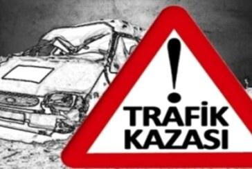 Dikmen-Taşkent yolunda 2 araç yüz yüze çarpıştı: 6 yaralı