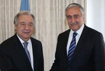 Akıncı-Guterres görüşmesi 23 Eylül'de
