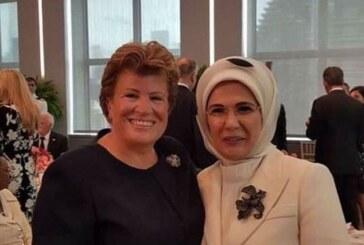 """BM'de """"first ladyler"""" buluştu"""