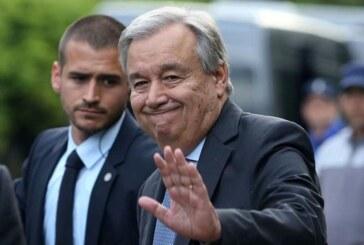 """Guterres: """"Tarihi çözüm fırsatı kaçtı"""""""
