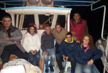 Çavuşoğlu balıkçılarla denize açıldı