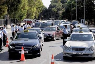 Taksiciler eylemi askıya aldı