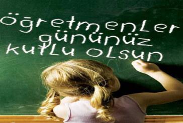 Gün öğretmenlerin…