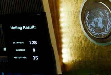 Kudüs tasarısı BM'de ABD'ye rağmen kabul edildi