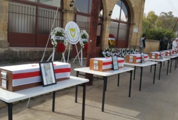 Ayvasıllı 8 Kıbrıslı Türk, 54 yıl sonra artık mezarlarında