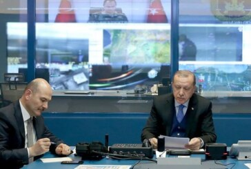 Erdoğan, Zeytin Dalı Harekatı'na ilişkin bilgi aldı