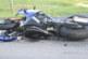 Motosiklet kazasında bir genç ağır yaralandı