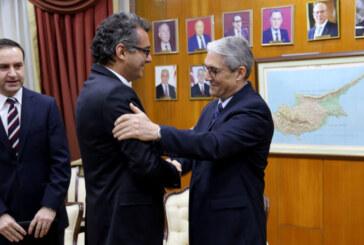 Büyükelçi Kanbay Erhürman'a Yıldırım'ın mesajını iletti