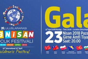 23 Nisan Ulusal Egemenlik Ve Çocuk Bayramı Törenle Kutlanacak