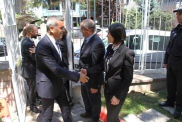 Uluçay, Ankara Büyükelçiliği'ni ziyaret etti