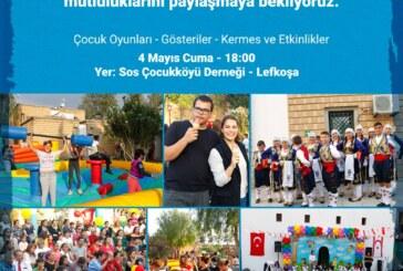 SOS Çocuk Köyü tarafından 23 Nisan etkinliği düzenlenecek
