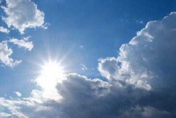 Bir hafta boyunca hava parçalı bulutlu
