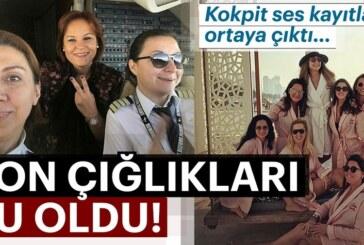 İran'da düşen Türk jetine ilişkin flaş gelişme! Ses kayıtları ortaya çıktı…