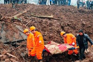 Çin'de heyelan: 9 ölü