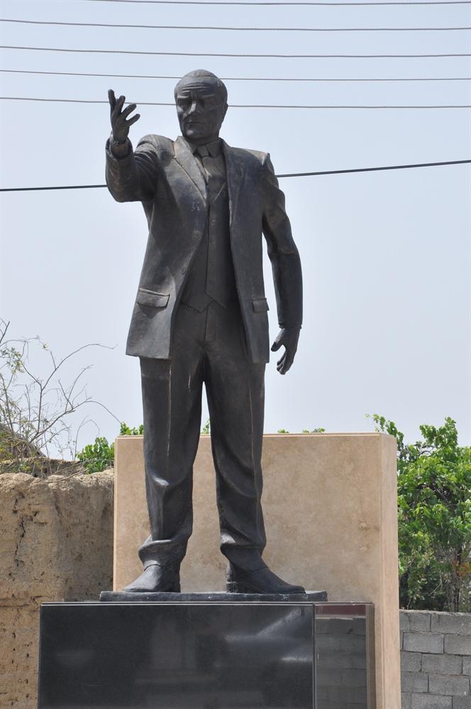 Yayla Atatürk Büstü yenilendi…Açılışı cuma günü yapılacak
