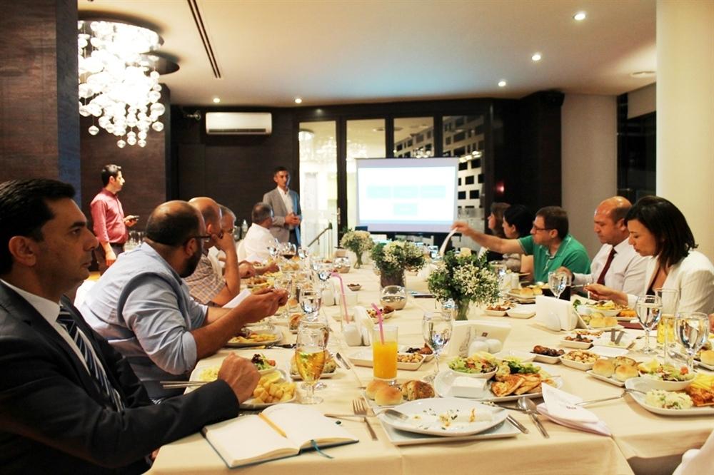 Birol Karaman, Girne Konseyi'ni ziyaret etti