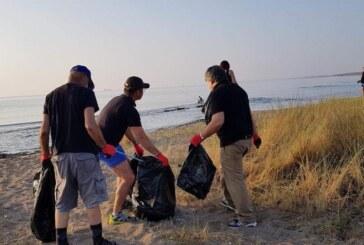 Her Daim Dostlar grubu, Kocareis-Venüs arasında sahil temizliği yaptı
