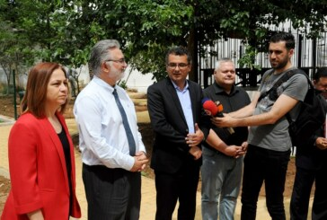 """Başbakan Erhürman, """"İyilik Evi""""ni ziyaret ederek bilgi aldı"""