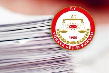 Türkiye'deki Milletvekili Seçimi'ne ilişkin geçici aday listesi açıklandı