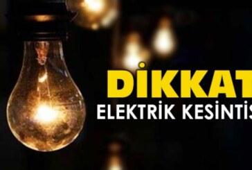 Mağusa'da bazı bölgelerde elektrik kesintisi olacak