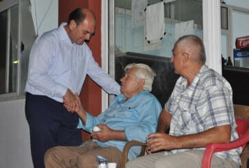Karavezirler ve belediye meclis üyesi adayları, Dilekkaya'yı ziyaret etti