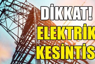 Lefkoşa'da yarın bazı bölgelere elektrik verilemeyecek