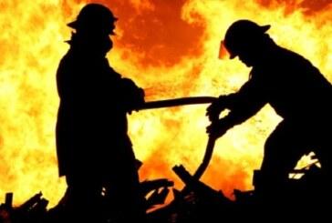 Mormenekşe'de korkutan yangın