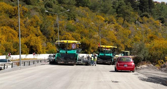 Lefkoşa-Girne anayolu yol bakım onarım çalışmalarının ikinci etabı bu hafta başlıyor