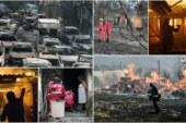 Yangın nedeniyle çeşitli yardım kampanyaları başlatıldı