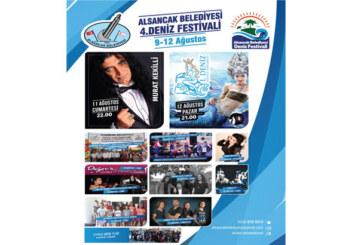Alsancak Belediyesi 4.Deniz Festivali yarın akşam başlayacak
