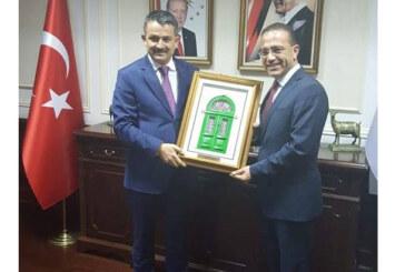 Şahali Ankara'da Pakdemir ile görüştü
