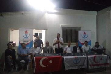 YDP Ulukışla'da açık hava toplantısı gerçekleştirdi