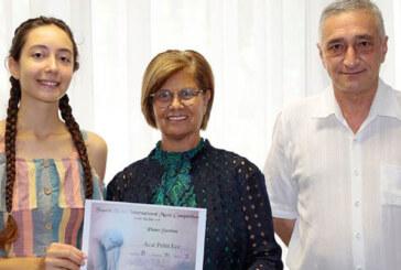 Meral Akıncı, ödüllü genç piyanisti kabul etti