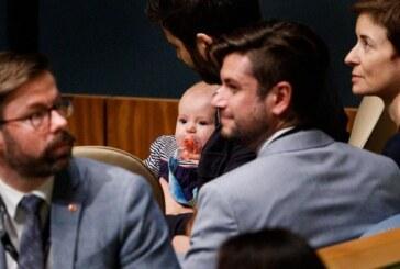 Yeni Zelanda Başbakanı Ardern BM'deki zirveye bebeğiyle geldi
