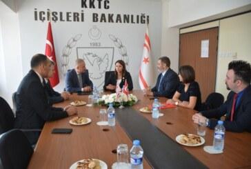 İçişleri Bakanlığı ve KKTC Telsim arasında iş birliği protokolü