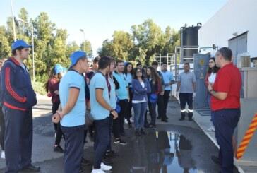 Güzelyurt atık su tesisi öğrencilere tanıtıldı