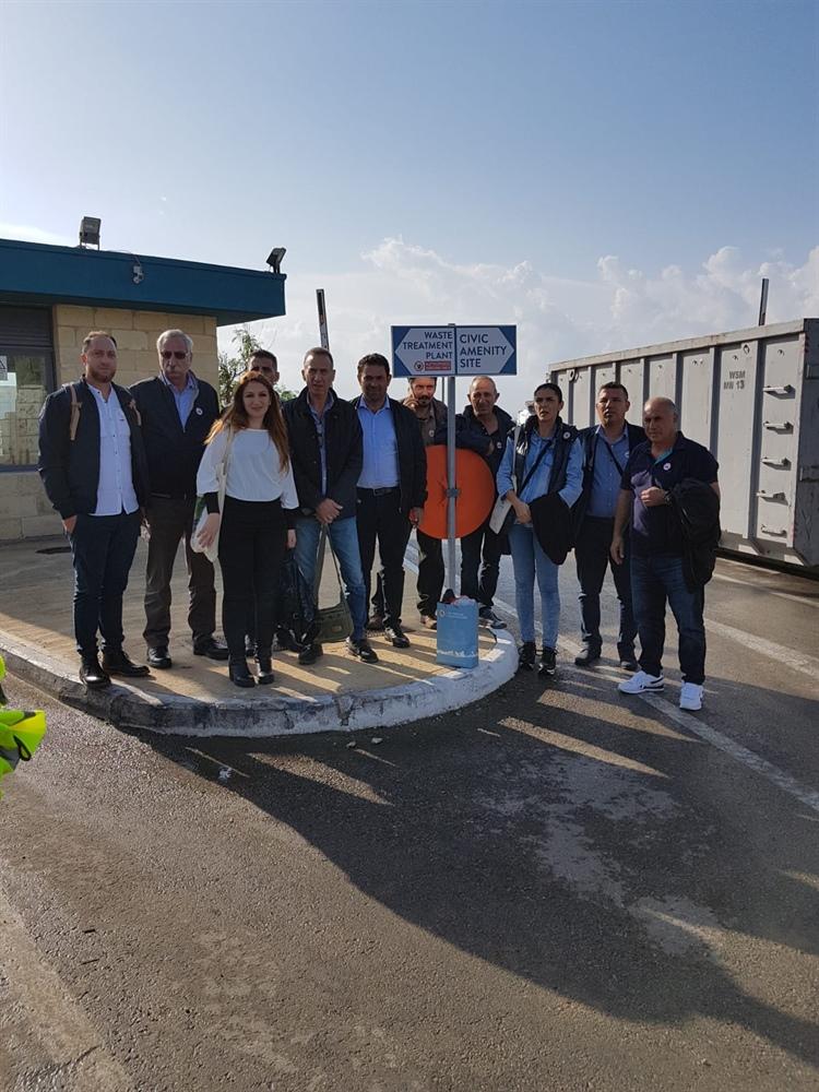 4 Belediye Malta'da incelemelerde bulundu