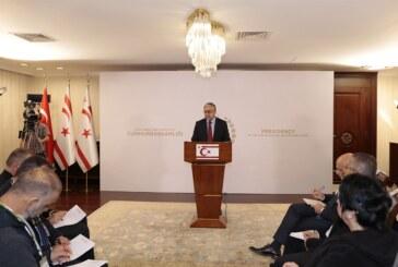 Akıncı:Kıbrıslı Türkler, Rumların hakim olacağı üniter bir devlette azınlık haklarıyla yetinmeyi kabul etmeyecek