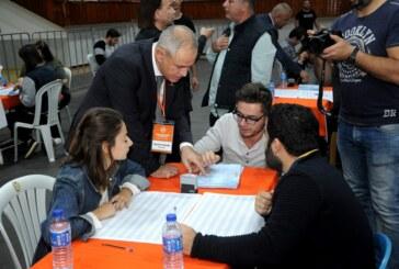 UBP Parti Meclisi için oylar sayılıyor