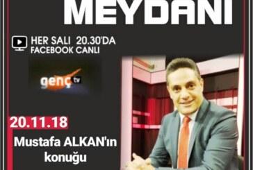 Mehmet Ali Talat Er Meydanı'nda