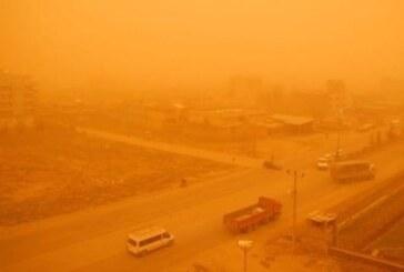 İran'da toz fırtınası