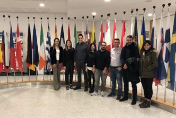 CTP'li gençler barış isteklerini Brüksel'e taşıdı