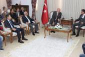 Başbakan Erhürman, Klasik Otomobil Rallicileri kabul etti
