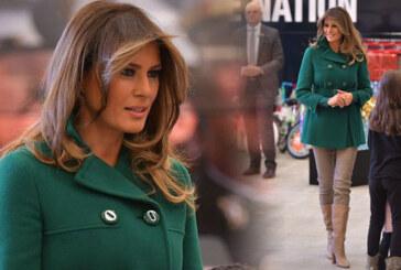 Melania Trump'ın yeni saç stili sosyal medyada alay konusu oldu